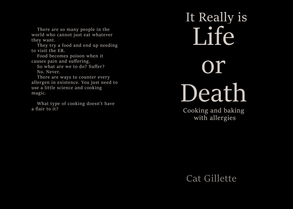 It Really is Life or Death cookbook cover